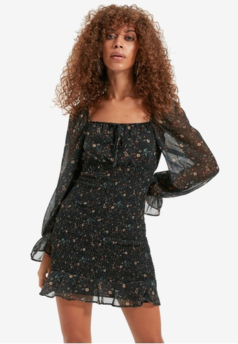 Trendyol black Black Dress 55266AAB775240GS_1
