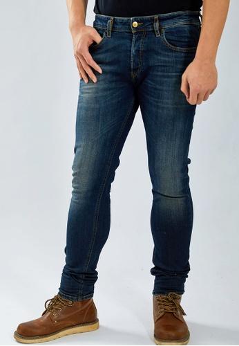 Diesel 藍色 SLEENKER-X L.32 PANTALONI Skinny Stretch Jeans 0D91CAAA2F7333GS_1