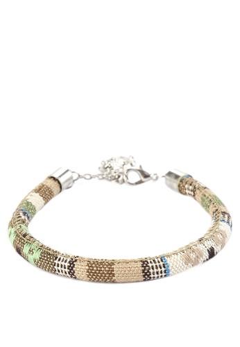 JOGLO AYU TENAN green Tenun Charm Bracelet 2C7A0AC86165F9GS_1