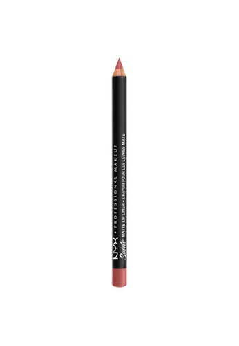 NYX Professional Makeup beige NYX Professional Makeup Suede Matte Lip Liner - SMLL 53   - BRUNCH ME E6AA8BE0CAEA8AGS_1