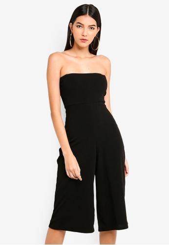 9eec8576368 Buy MISSGUIDED Bandeau Culottes Jumpsuit Online on ZALORA Singapore