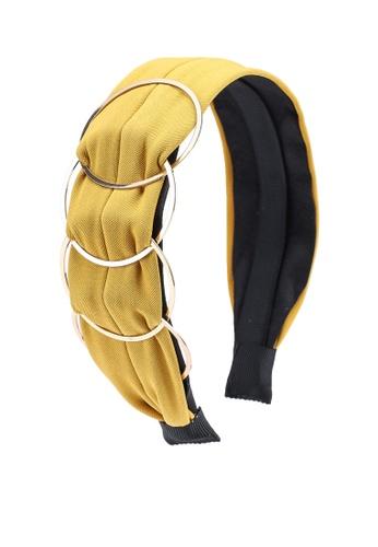 ALDO yellow Alalla Head Band 1B5F9AC25B37E9GS_1