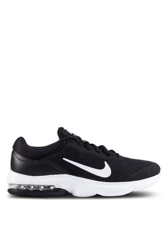 Nike black Men's Nike Air Max Advantage Running Shoes NI126SH0U7TRID_1