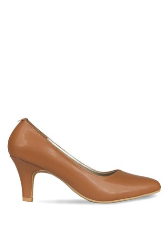 CLAYMORE brown Claymore Mid low helels HA 06 Tan CL635SH0UHXGID_1