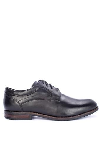 Rockport black Dustyn Plain Toe Dress Shoes 666D8SH379B30EGS_1
