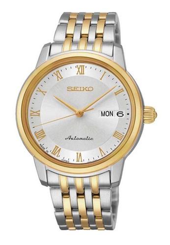 Seiko multi Seiko Presage Gold and Silver Stainless Steel Watch SE382AC87KVSID_1