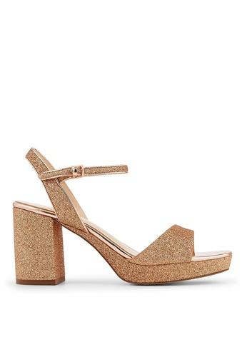 Minelli gold F93 034/GLI Metallic Style Sandals - Megann MI352SH34MGJSG_1