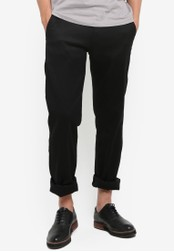Fidelio black 434 Slim Straight Chino Pants FI826AA38NSJMY_1