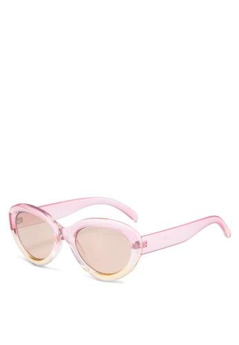 Mango pink Acetate Frame Sunglasses 70151GL4F771A5GS_1