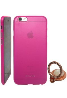 Back Cover Case Super Thin For Iphone 6-4.7 with Free Universal Cellphone Stand