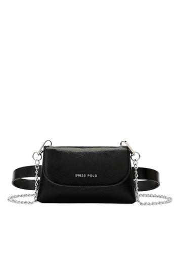 Swiss Polo black 2-Way Usage Chain Bag 34527ACDD8F1A6GS_1