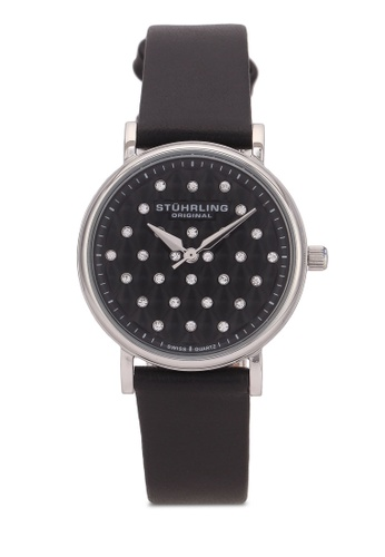 Stuhrling Original black Women's Swiss Quartz Watch ST251AC0S050MY_1