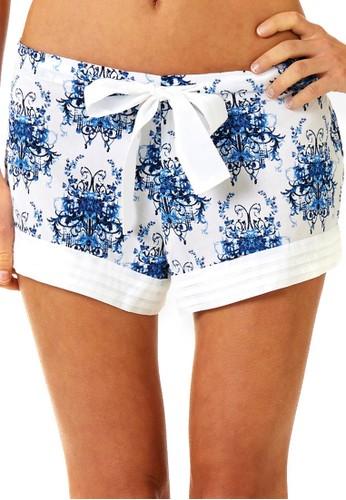 Chandelier 印花esprit香港分店短褲, 服飾, 睡褲