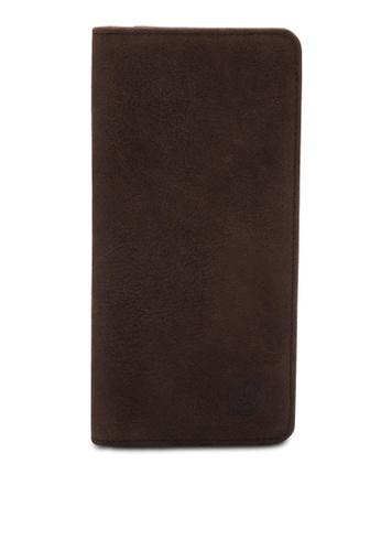 Lumberjacks brown Men's Long Wallet LU545AC94ZRHMY_1