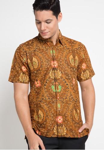 Brahmani Batik multi and brown Hem Sogan Anggara DCA13AA8665352GS_1