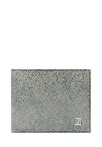BONIA Grey Piero Short Two Fold Wallet BD6E2ACBDA1863GS_1