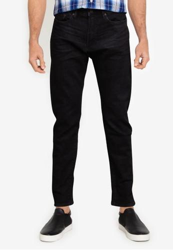 GAP black V-Slim Taper Washed Black Jeans A9271AAFDB58AAGS_1