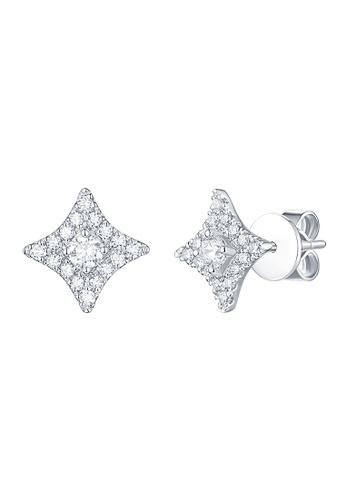 Smiling Rocks white 14K White Gold 0.39ct Lab Grown Diamond Sparkle Earrings 7D244ACCB01BEBGS_1