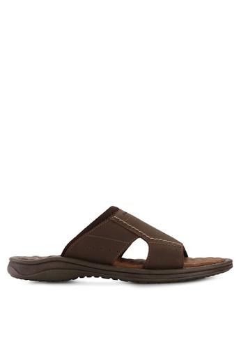 Pakalolo Boots brown Slip On Sandal PA409SH92HTJID_1