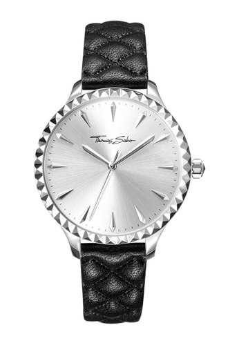 "THOMAS SABO silver Women's Watch ""REBEL AT HEART"" 6F507AC6C9F2EEGS_1"