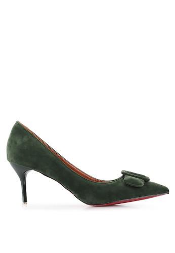 Mandy's green Hindia Green Heels MA947SH08TFRID_1