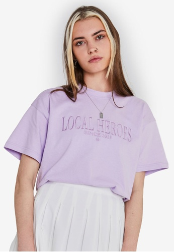 Local Heroes purple LH 2013 Lavender Tee F08D1AAA05C8C5GS_1