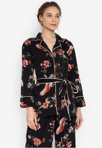 2b6305478dc201 Shop ForMe Printed Pajama Top Online on ZALORA Philippines