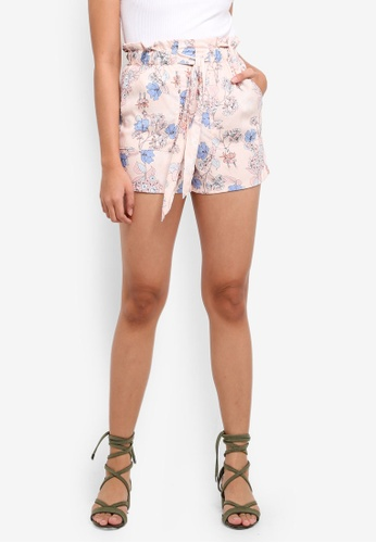 Factorie multi Paperbag Shorts (Woven) 4EB18AAFB44FDCGS_1