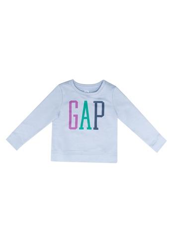 GAP blue Logo T-Shirt DDFE0KACFACE2BGS_1