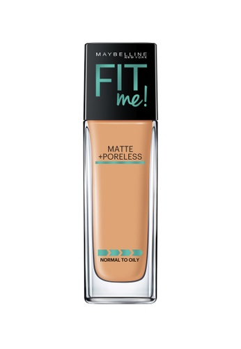 Maybelline Maybelline Fit Me Matte + Poreless Liquid Foundation (332 Golden Caramel) MA671BE0RW7MMY_1