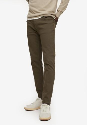 MANGO Man beige Colour Skinny Jeans 9CEFFAA54C3D80GS_1