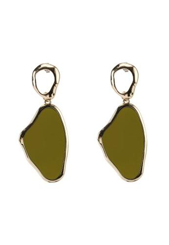 LOWRYS FARM green Drop Earrings 0743DAC626F195GS_1
