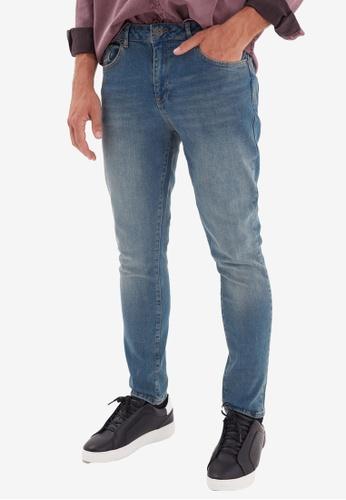 Trendyol blue Skinny Fit Jeans 02D36AA5325B6DGS_1