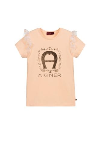 AIGNER KIDS orange AIGNER GIRLS T-SHIRT D9BC6KA32F46CAGS_1