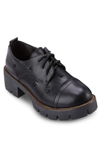 厚底粗跟德比鞋, 女鞋, esprit outlet台北厚底鞋