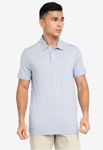 ABERCROMBIE & FITCH blue Stripe Air Knit Polo Shirt 7726BAA5C82641GS_1