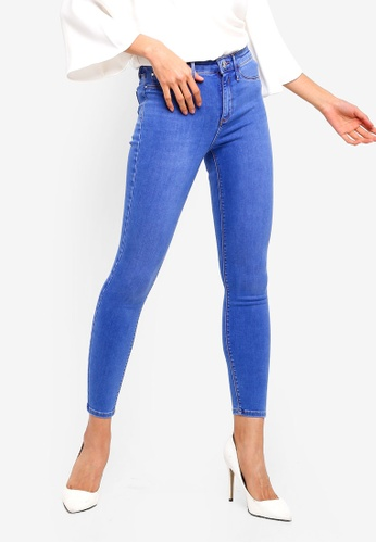 River Island blue Molly Olympic Jeggings 89A6CAA1D8444FGS_1