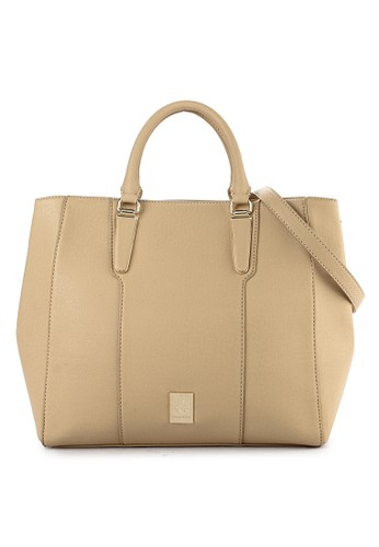 Les Catino multi and brown New York Queens Tote 82806ACA750839GS_1