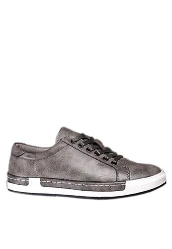 Twenty Eight Shoes 灰色 縫線邊運動鞋 VMT556 A8E3ASHC830C98GS_1