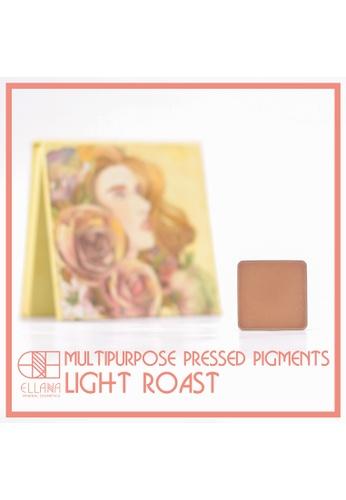 Ellana Mineral Cosmetics brown Multipurpose Pigment Pressed Refill 2g in Light Roast EL322BE63JWIPH_1