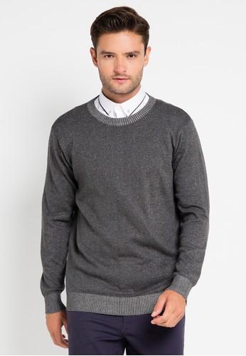 Tolliver grey Knitwear Slub TO631AA0VOYYID_1