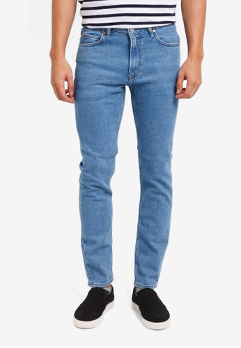MANGO Man blue Slim-Fit Medium Wash Patrick Jeans BC22FAA7E3A9F5GS_1