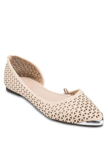 Polly Point Flats, 女鞋, zalora 包包評價鞋
