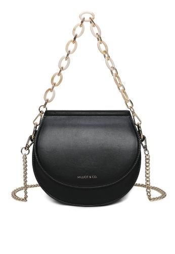Milliot & Co. black Xylia Sling Bag CAE0EAC4A18829GS_1