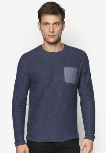 丹寧口袋長袖衫、 服飾、 服飾ESPRIT丹寧口袋長袖衫最新折價