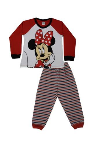 Disney Baby red Disney Baby Girl Round Neck Pyjamas 70900KA29B796DGS_1