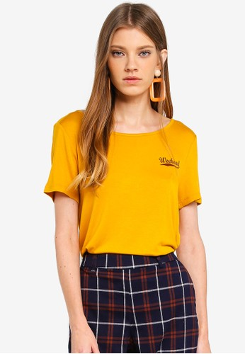 ONLY yellow Arli T-Shirt FC78AAAC060603GS_1