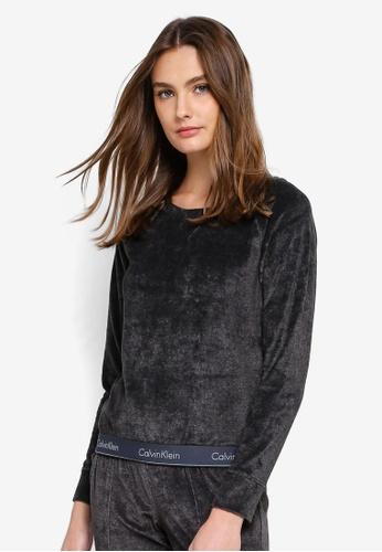 Calvin Klein black Modern Cotton Long Sleeve Sweatshirts - Calvin Klein Underwear 531D9AA1314922GS_1