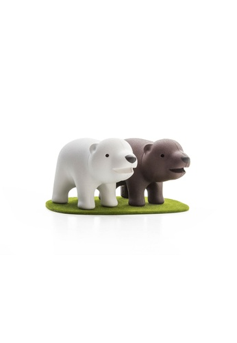 Qualy Qualy Brother Bear Salt and Pepper Shaker Set CD848HL2340A30GS_1