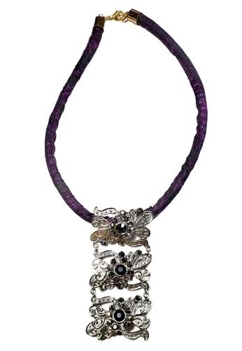 Paulini silver Choker Batik Rita (R) 753D8ACAEBF196GS_1